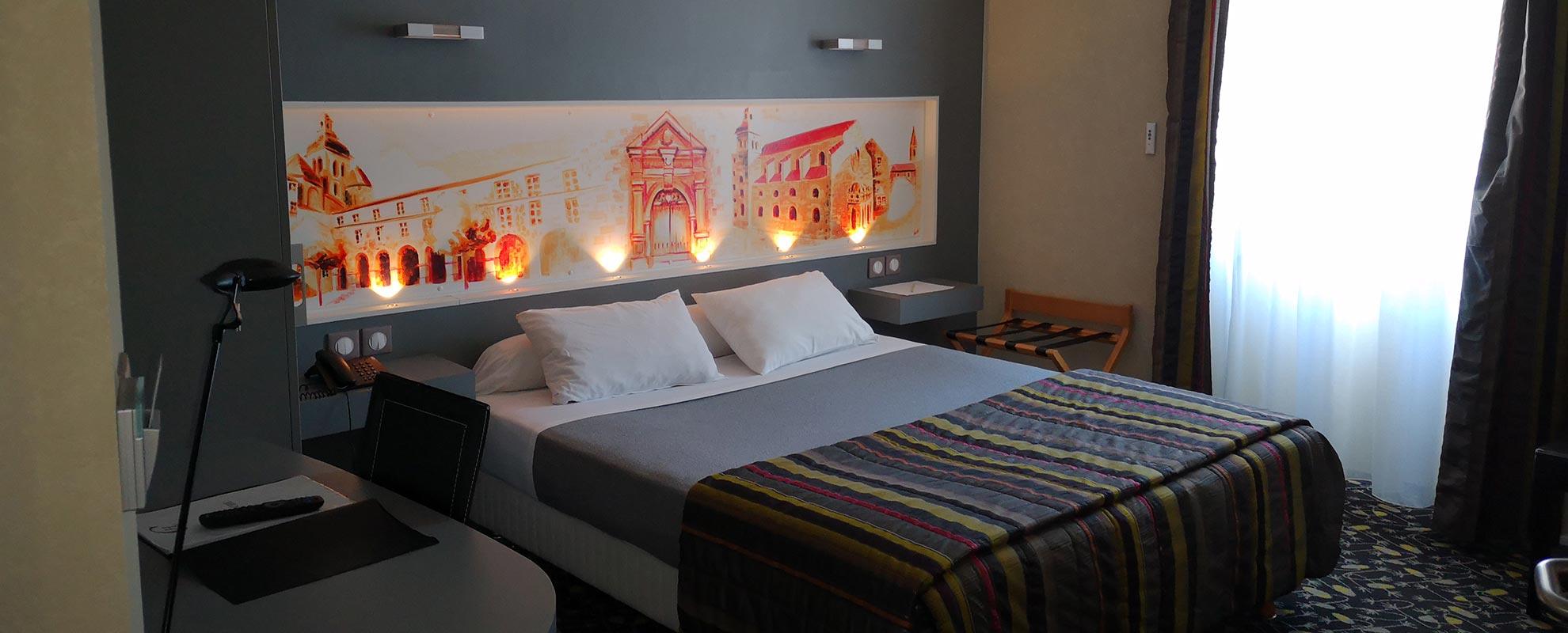 hotel de la cloche de Dole du Jura