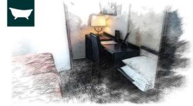 hotel de la cloche dole jura Chambre eco twin
