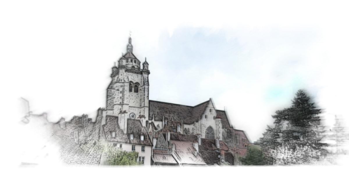 Collégiale Notre-Dame de Dole hotel de la cloche